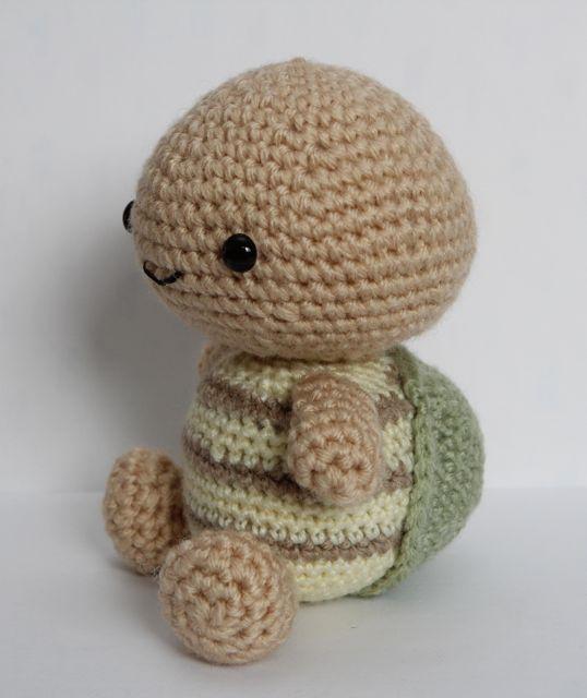 Little Muggles Timmy The Amigurumi Turtle