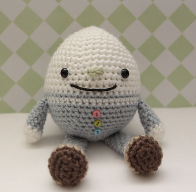 Knitting Pattern For Humpty Dumpty : Little Muggles Humpty Dumpty