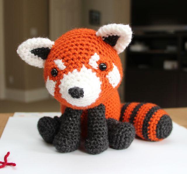 Amigurumi Free Patterns Pokemon : Little Muggles Red Panda