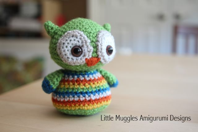 Amigurumi Owl Crochet Patterns Free : Little Muggles Baby Owl Free Pattern!