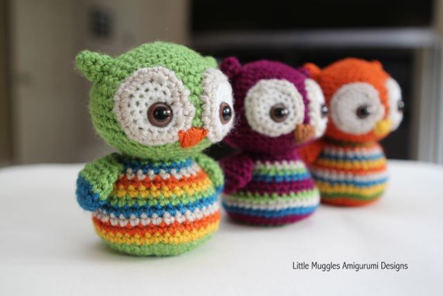 Free Crochet Pattern Small Owl : Amigurumi: blog