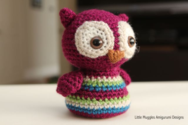 Free Crochet Pattern Small Owl : Little Muggles Baby Owl Free Pattern!