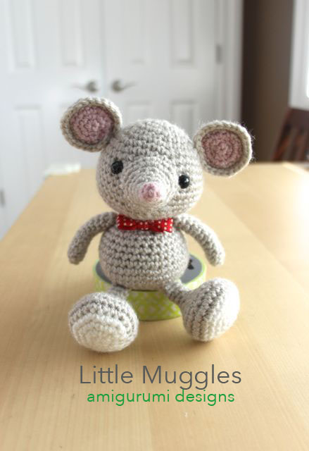 Amigurumi Patterns Free Mouse : Little Muggles Baby Mouse Pattern