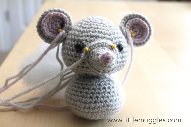 Little Muggles | Baby Mouse Pattern