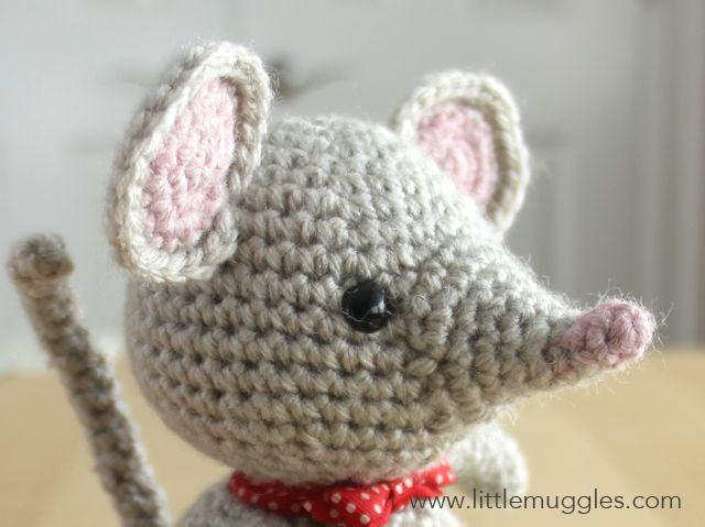 Amigurumi Vivi Free Patterns : Little muggles baby mouse pattern