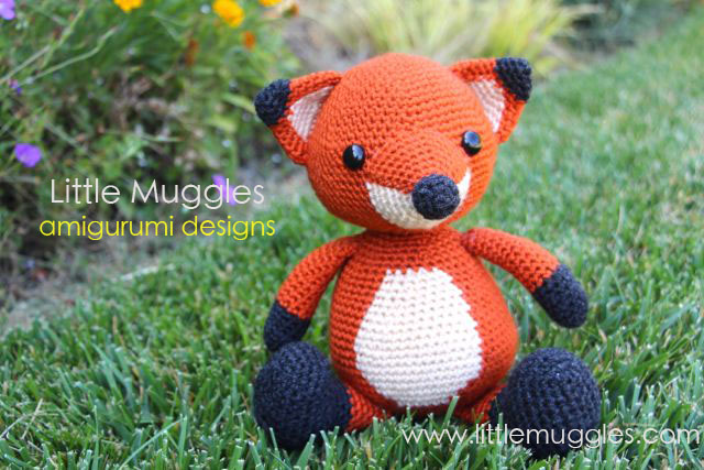 Amigurumi Strawberry Girl Free Pattern : Little Muggles Making my Amigurumi Fox