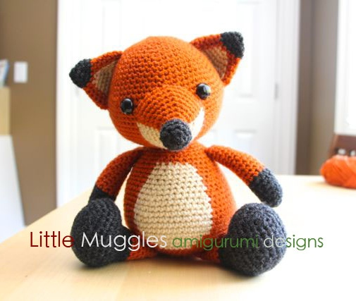 Fox Amigurumi, Mr. Furu - Free Crochet Pattern | Craft Passion | 427x505