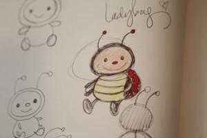 Dottie drawing