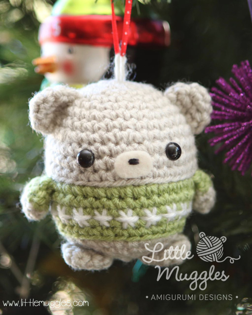 Little Muggles Baby Bear Ornament