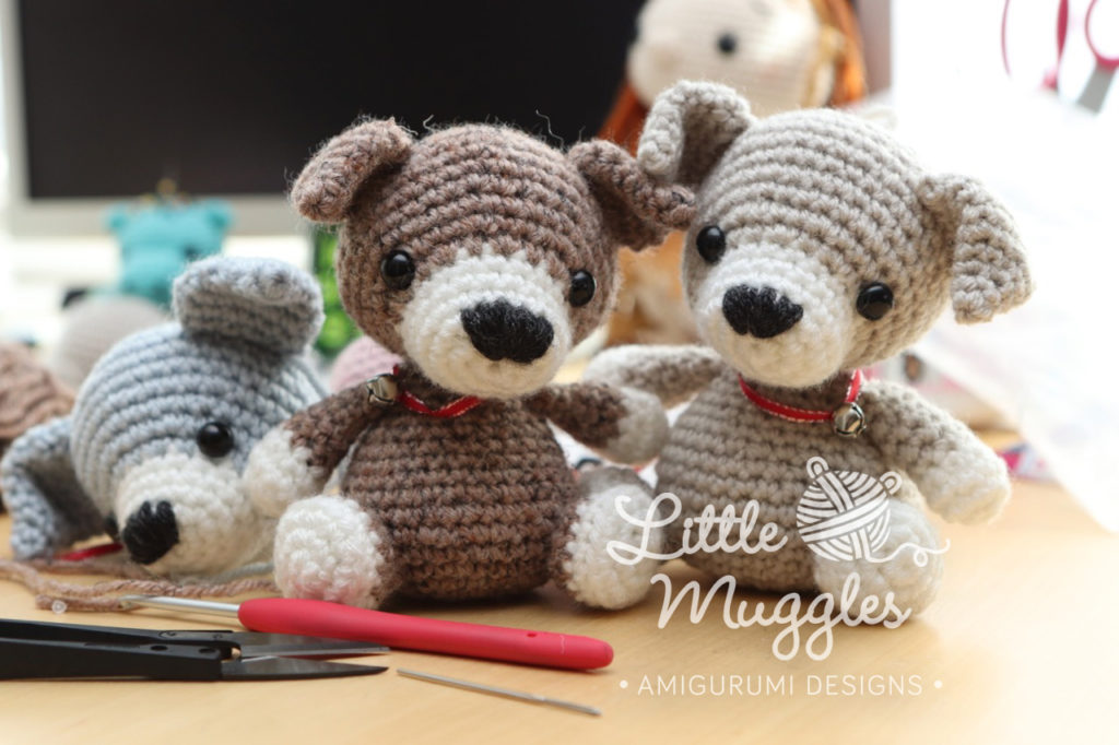 Little Muggles Free Pattern Puppy Beanbag Buddies