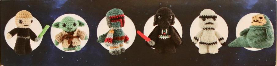 Star Wars Ornaments Free Crochet Patterns – Wool Patterns | 217x904
